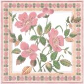 Декор Виктория 20*20 розовый