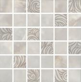 Декор Вирджилиано серый мозаичный 30*30