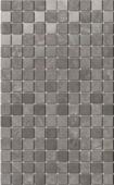 Декор Гран Пале серый мозаичный 25*40