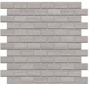 Декор Грасси серый мозаичный 32*30