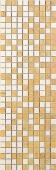 Декор Золотой водопад мозаика 25*75 A171