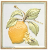 Декор Капри лимончик 9,9*9,9