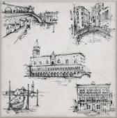 Декор Марчиана Venezia 20*20