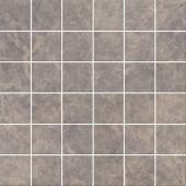 Декор Мерджеллина коричневый мозаичный полотно 30,1*30,1