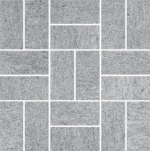 Декор Ньюкасл серый мозаичный 30*30