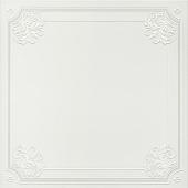 Декор Петергоф белый 40,2*40,2