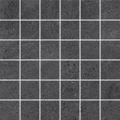 Декор Про Матрикс чёрный мозаичный 30*30