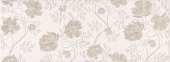 Декор Сафьян Цветы 15*40