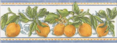 Декор Сорренто Лимоны 15*40