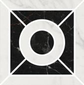 Декор Фрагонар наборный белый 9,9*9,9
