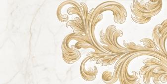 Декор Saint Laurent белый 30*60