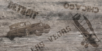 Декор Vesta Detroit коричневый 30*60
