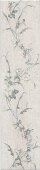 Кантри Шик белый декорированный 9,9*40,2