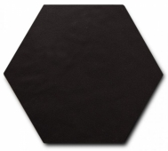 Керамогранит SCALE Hexagon Porcelain Black 11,6х10,1 см