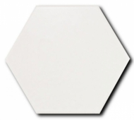 Керамогранит SCALE Hexagon Porcelain White 11,6х10,1 см