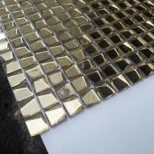Мозаика aureo trapezio 20x20x6 мм (лист 30,6 х 30,6 см) CARAMELLE