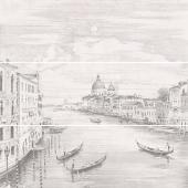 Панно Город на воде Venice обрезной 75*75