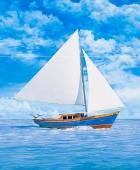 панно читара яхта 60*50 KERAMA MARAZZI STGA3783x7000