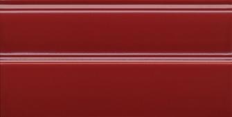 Плинтус Даниэли красный обрезной 30*15