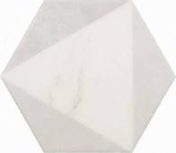 Плитка напольная CARRARA Hexagon Peak 17,5x20 см