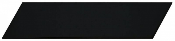 Плитка настенная Chevron Black Left 6,4x26 см