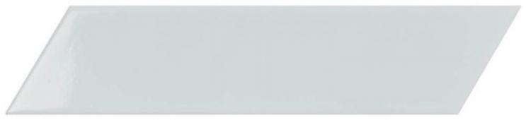 Плитка настенная Chevron Blue Left 6,4x26 см
