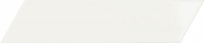 Плитка настенная Chevron White Left 6,4x26 см