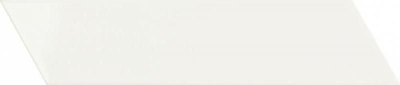 Плитка настенная Chevron White Right 6,4x26 см