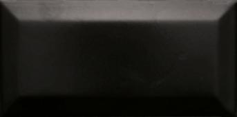 Плитка настенная Paris (Metro) Negro Mate 7,5x15 см