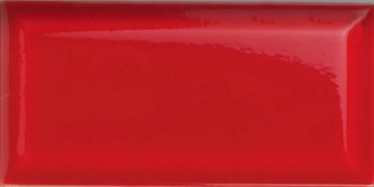 Плитка настенная Paris (Metro) Rojo 7,5x15 см