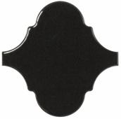Плитка настенная SCALE ALHAMBRA Black 12х12  см