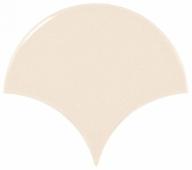 Плитка настенная SCALE Fan Cream 10,6х12 см