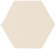Плитка настенная SCALE Hexagon Crema 12,4х10,7 см