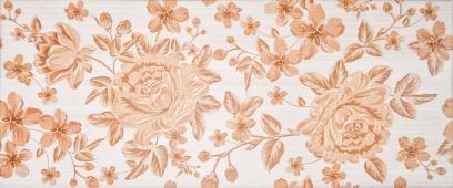 Плитка Fabric beige decor 01 25*60