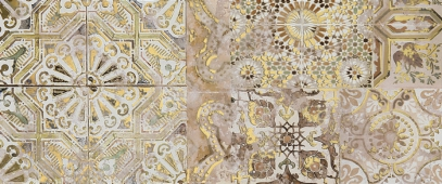 Плитка Patchwork beige decor 01 25*60