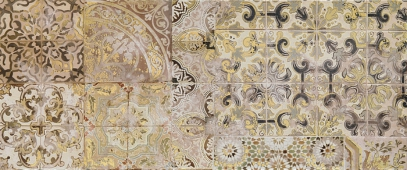 Плитка Patchwork beige decor 02 25*60