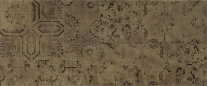 Плитка Patchwork brown wall 03 25*60