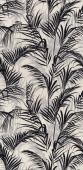 Тропикаль листья чёрный обрезной 30*60