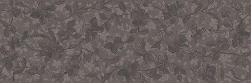 Emigres Floral Negro 30x90 384