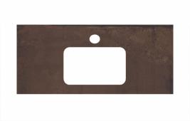 Спец. декоративное изделие для раковин, встраиваемых сверху, 100 см Про Феррум коричневый