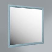 Панель с зеркалом Provence, 80 см синий