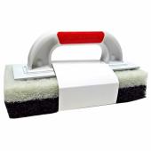Терка с волокном черным и белым  (набор для затирания эпоксидными затирками)