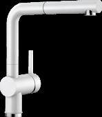 Смеситель LINUS-S керамика глянцевый белый Заказная позиция BLANCO