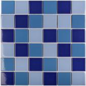 Кер. мозаика 48x48 Blue Mix Glossy (WB52200) 306х306х6