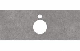 Спец. декоративное изделие для накладных раковин 120 см Фондамента серый