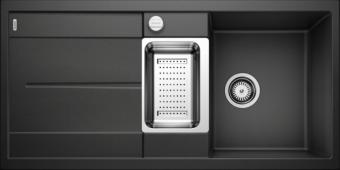 Мойка METRA 6 S SILGRANIT PuraDur антрацит с клапаном-автоматом  BLANCO 513053