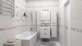 1064-0098 плитка настенная шебби шик декор 20х60 серый LASSELSBERGER | LB Ceramica