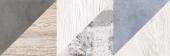 1064-0167 Плитка настенная ВЕСТАНВИНД декор 1 натуральный