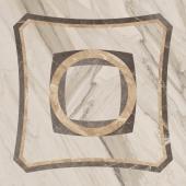 Декор Портофино 45x45 Интарсио белый