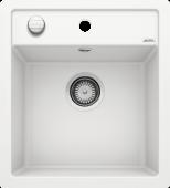 Мойка DALAGO 45-F SILGRANIT PuraDur белый с клапаном-автоматом (Заказная позиция) BLANCO 517169